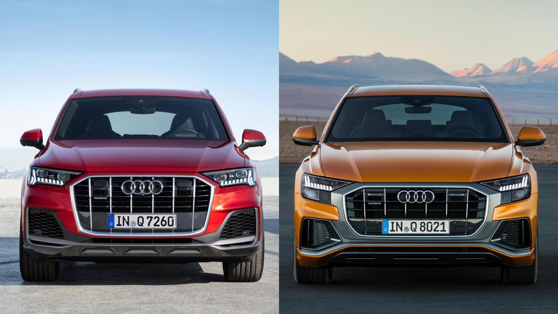 Audi Q7 vs Q8