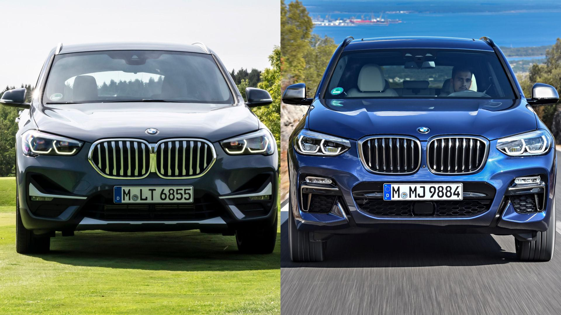 BMW X1 vs X3