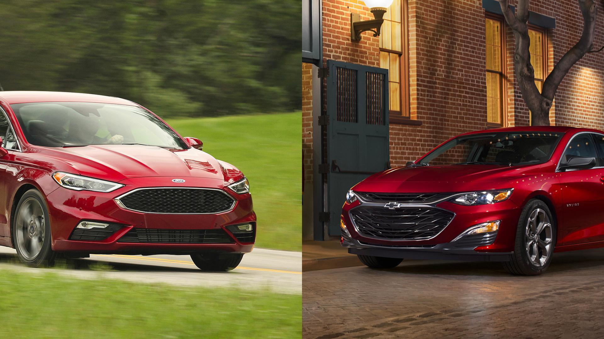 Ford Fusion vs Chevy Malibu