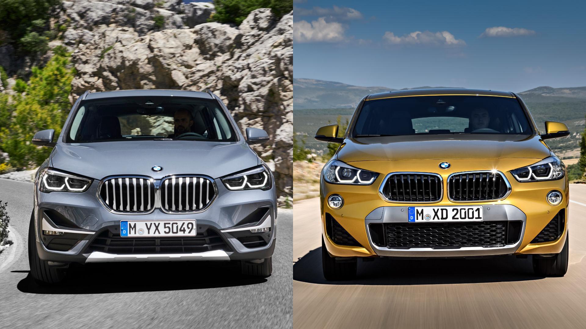 BMW X1 vs X2