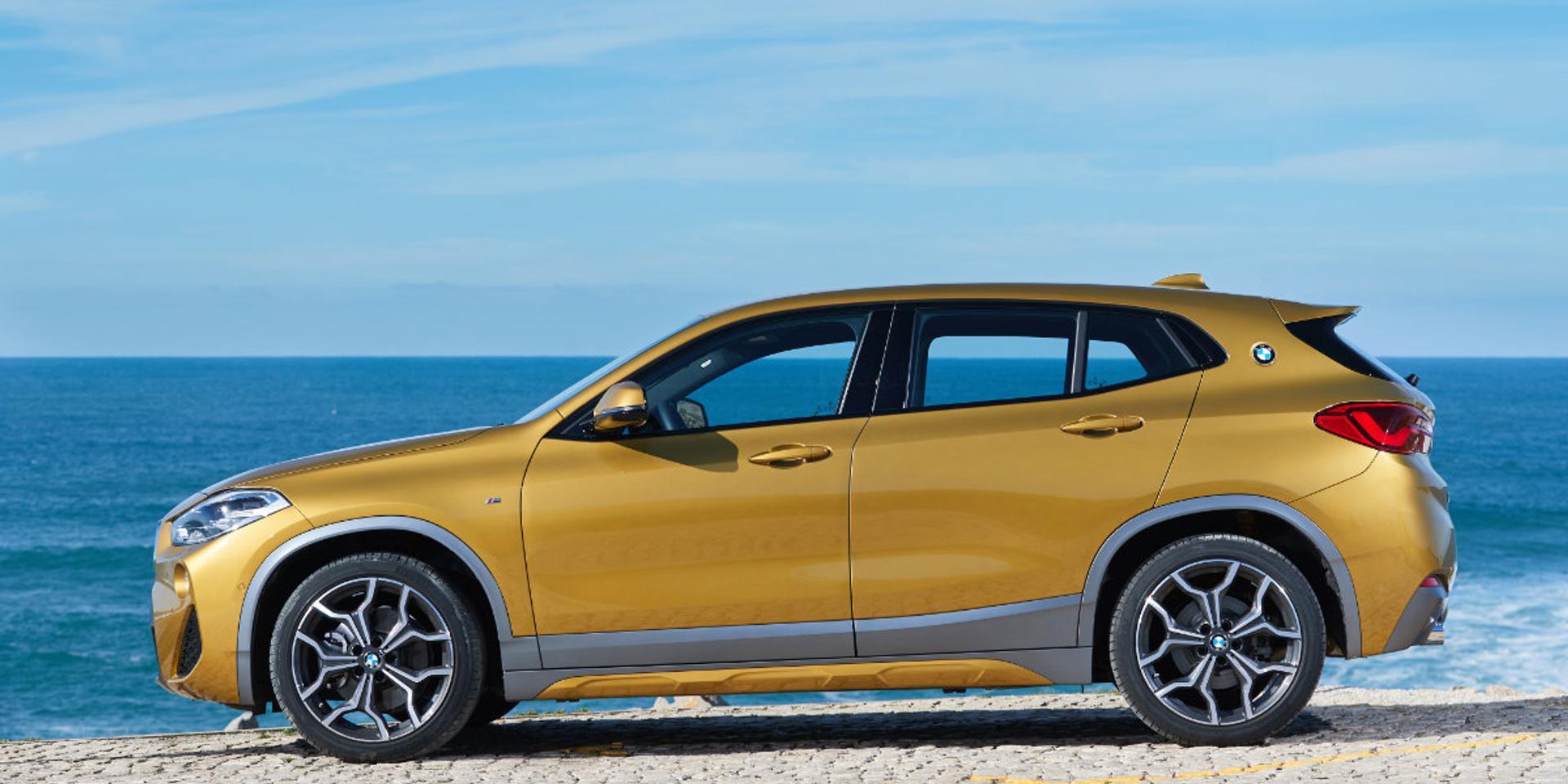 BMW X2 side view