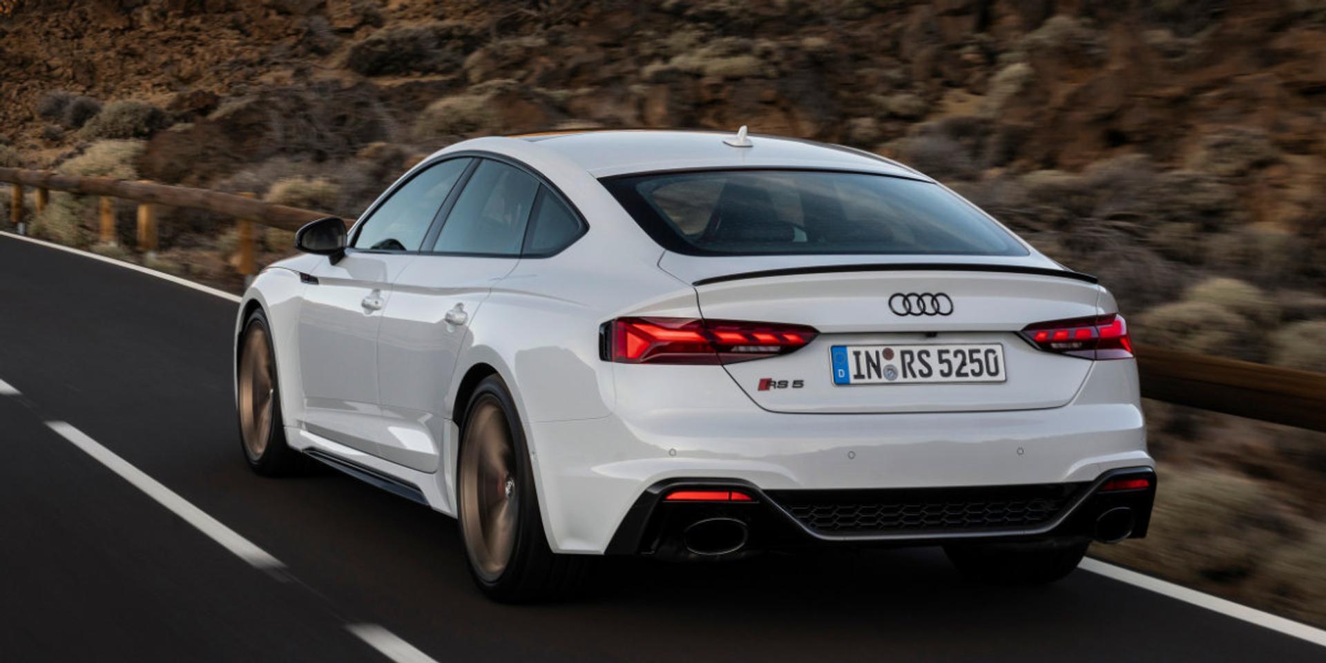 Audi RS5 rear view