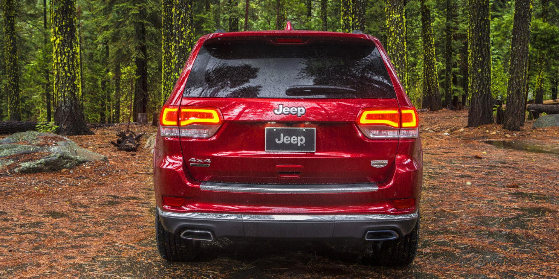 Jeep Grand Cherokee rear view
