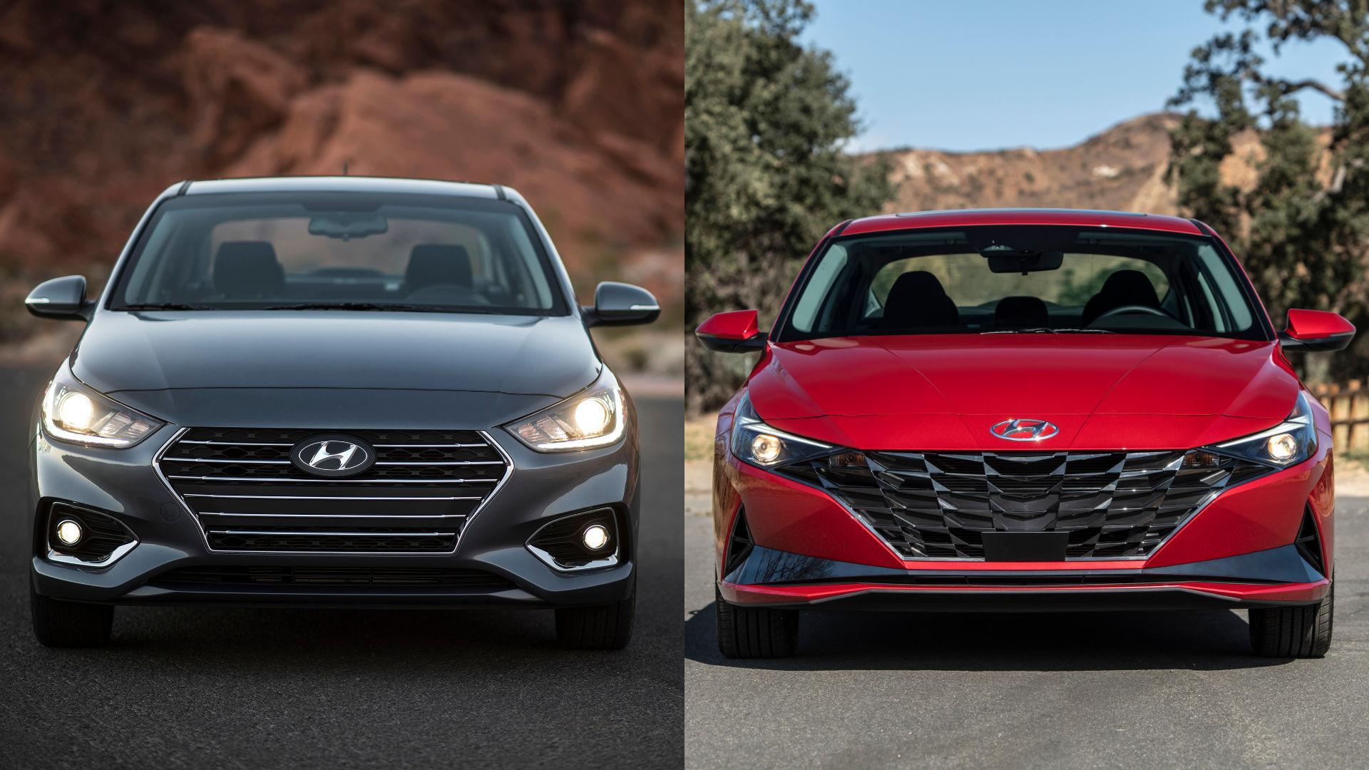 Hyundai Accent vs Elantra