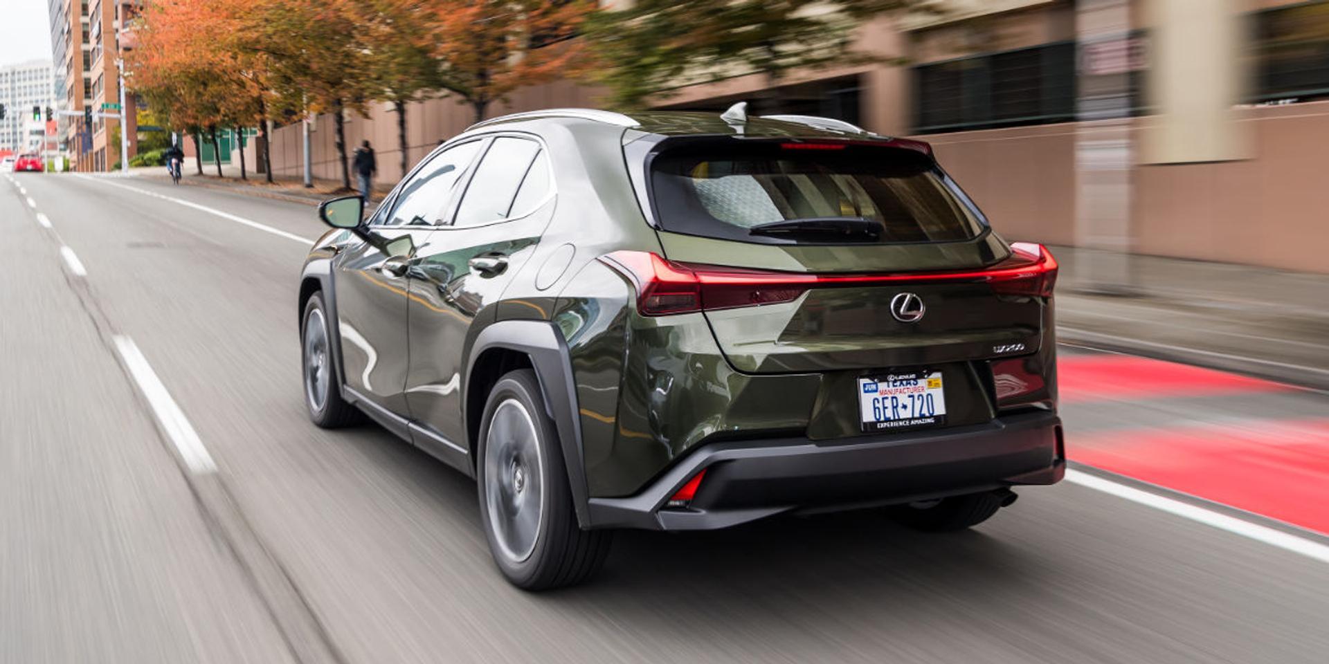 Lexus UX rear view