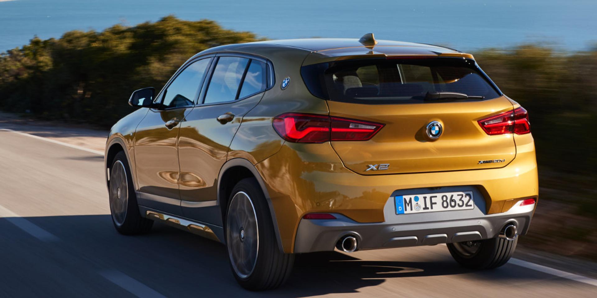 BMW X2 rear view