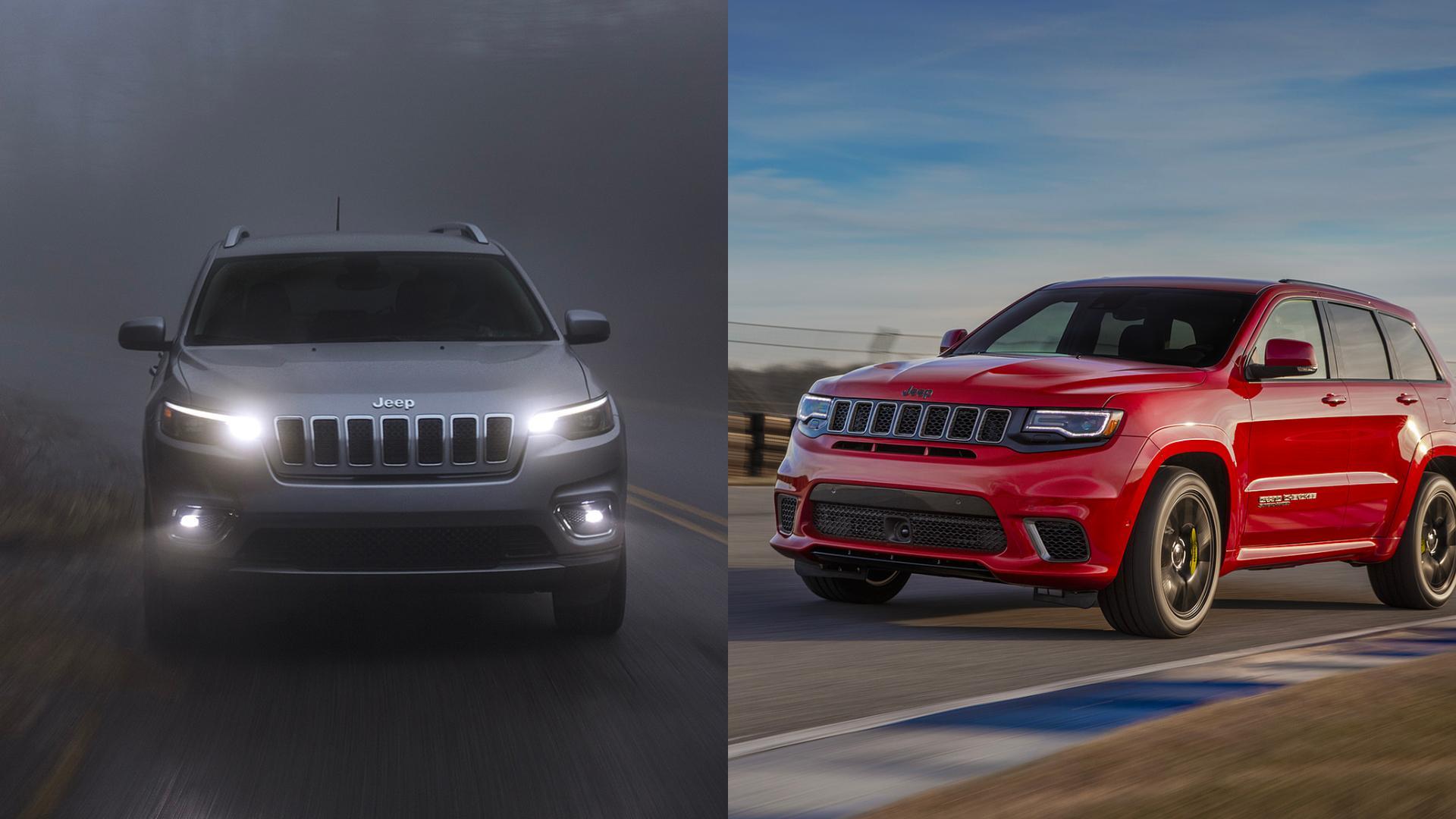 Jeep Cherokee vs Grand Cherokee