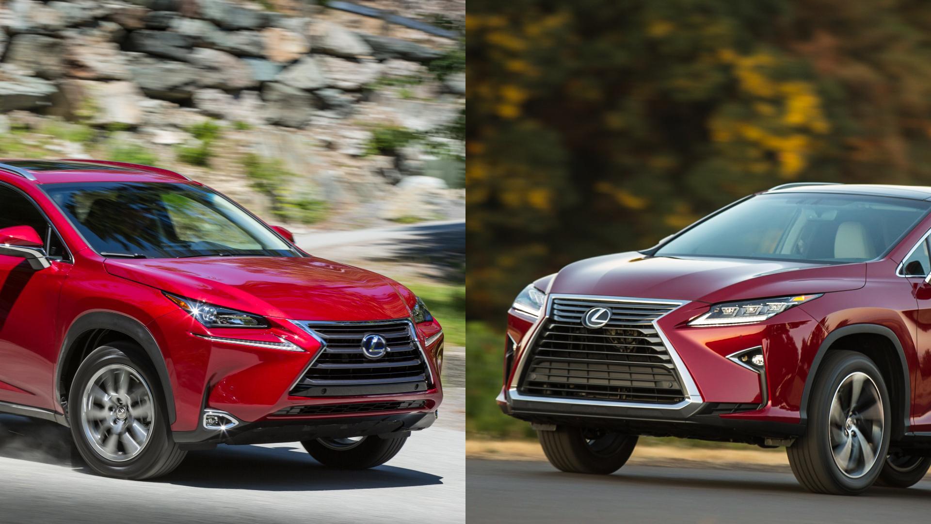Lexus NX vs RX