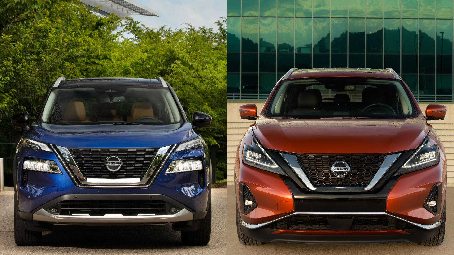 Nissan Rogue vs Murano