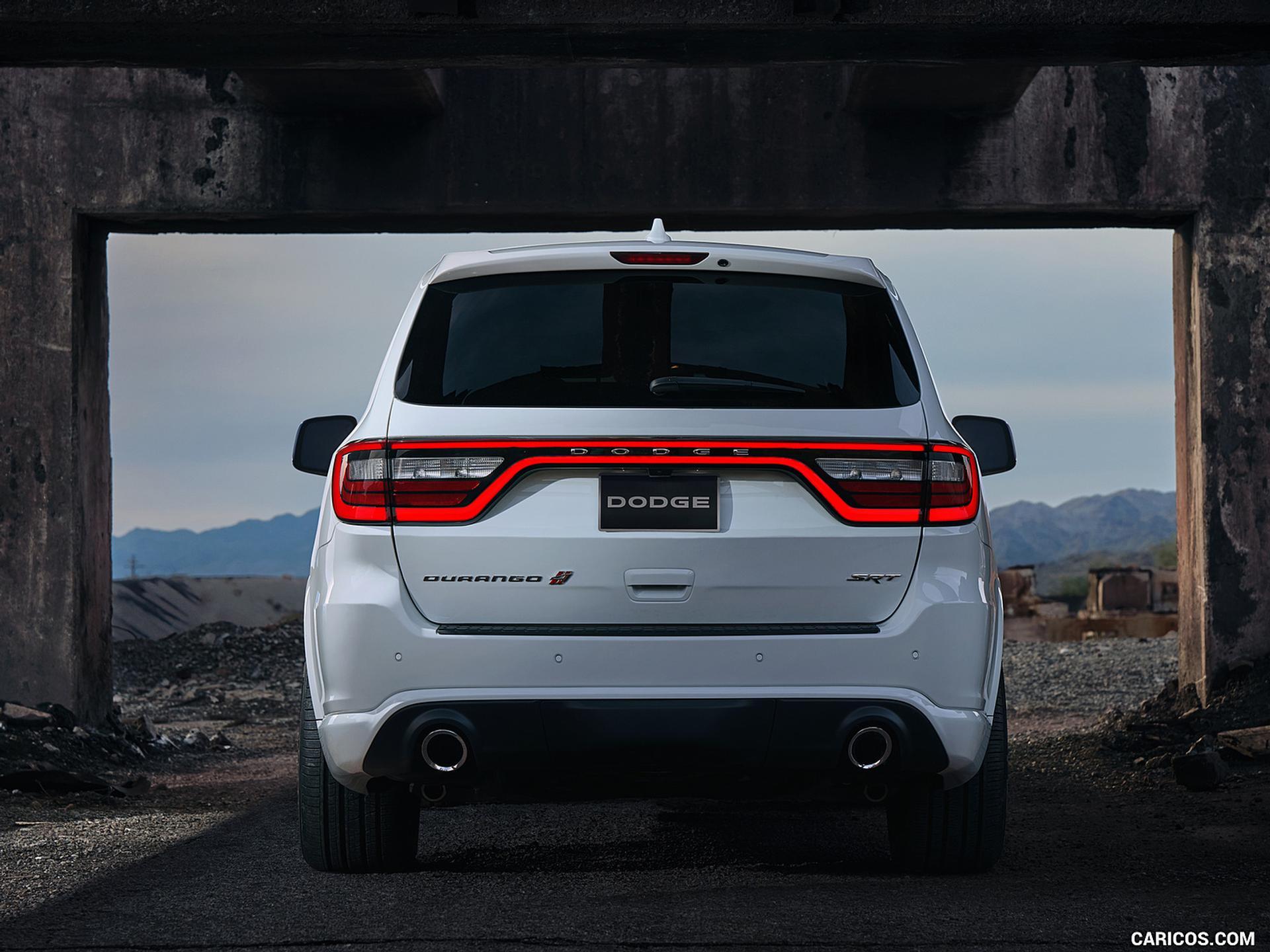 Dodge Durango rear view