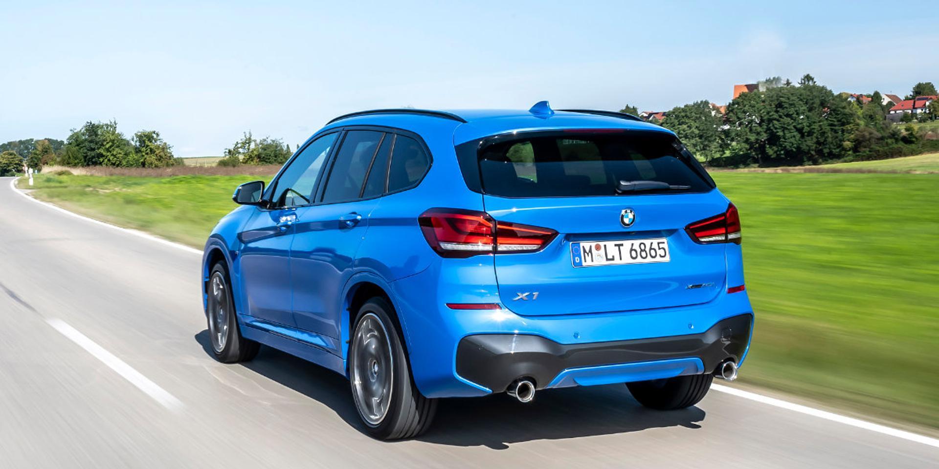 BMW X1 rear view