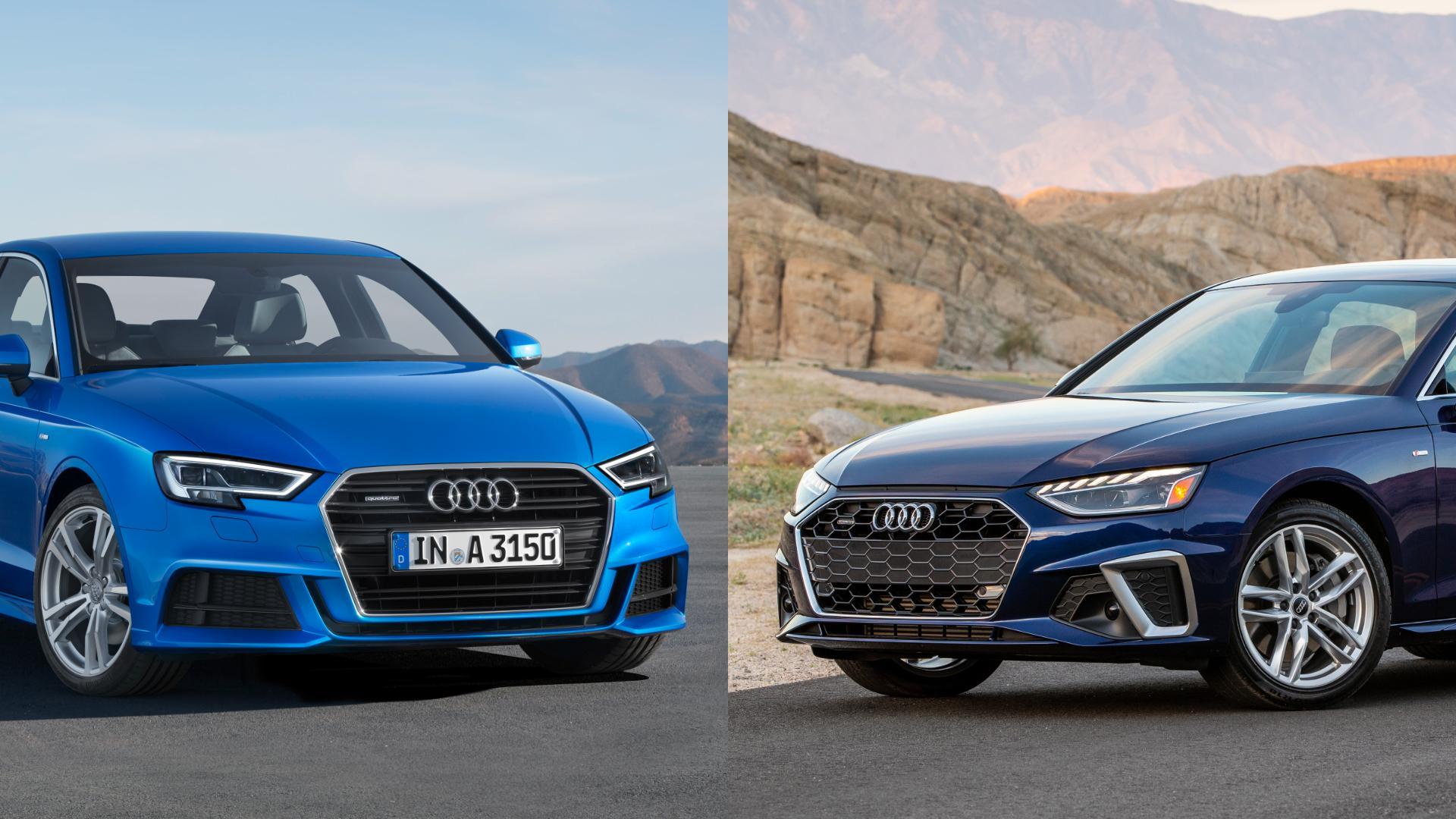 Audi A3 vs A4