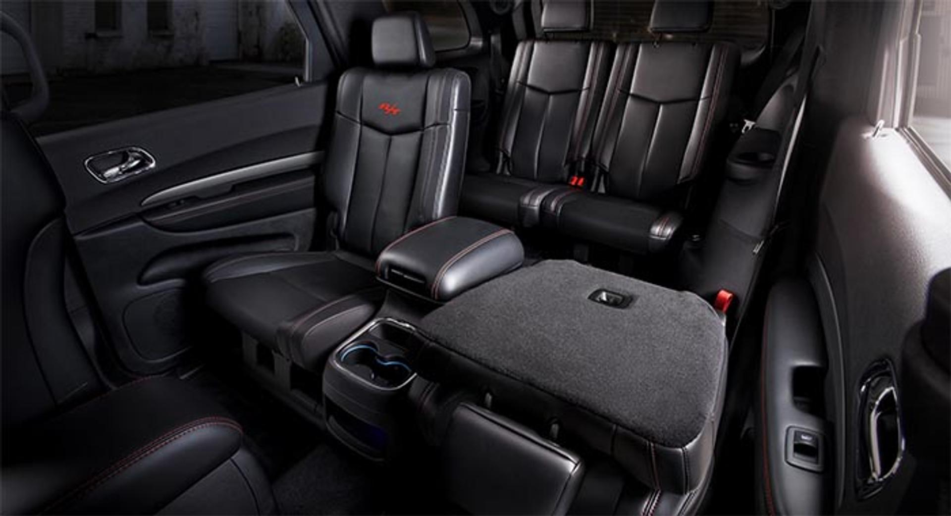 Dodge Durango rear passenger seating