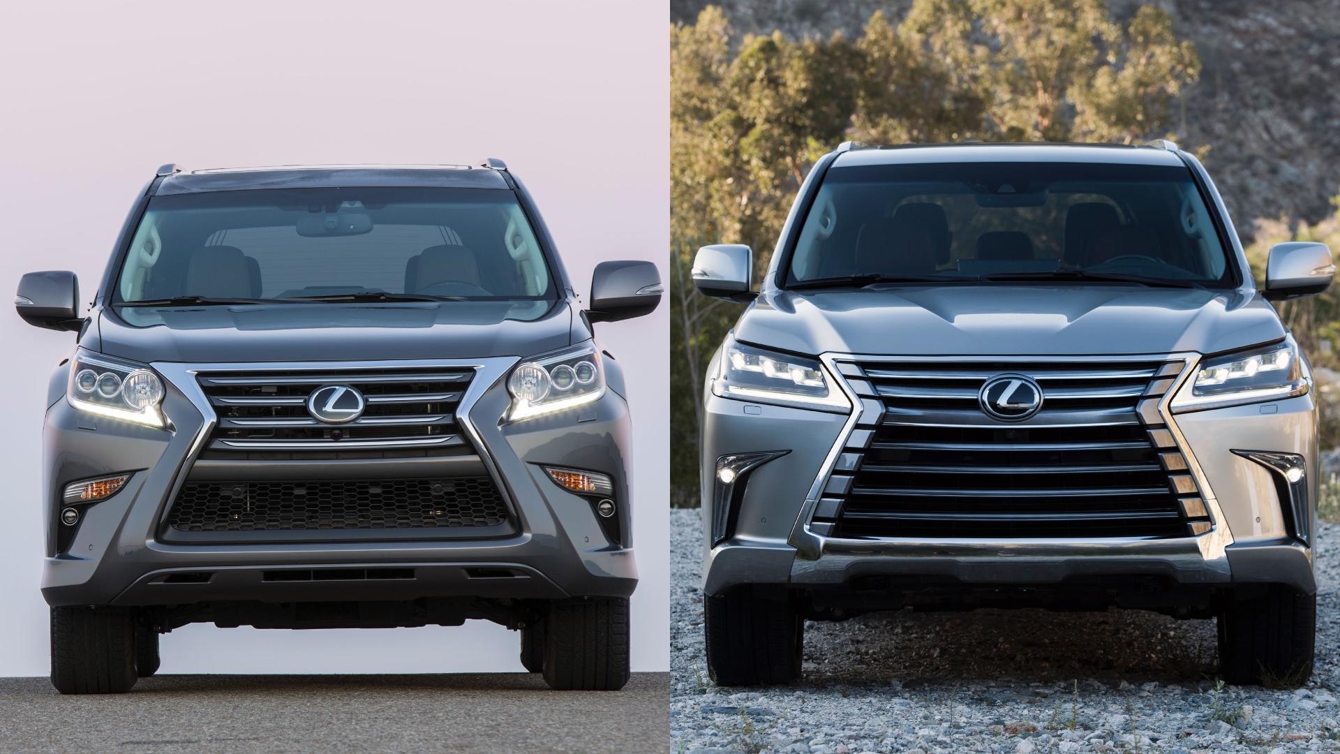 Lexus GX vs LX