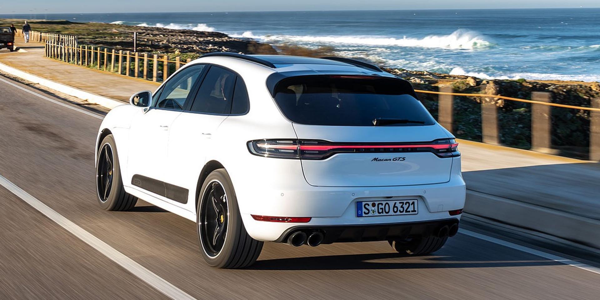 Porsche Macan rear view