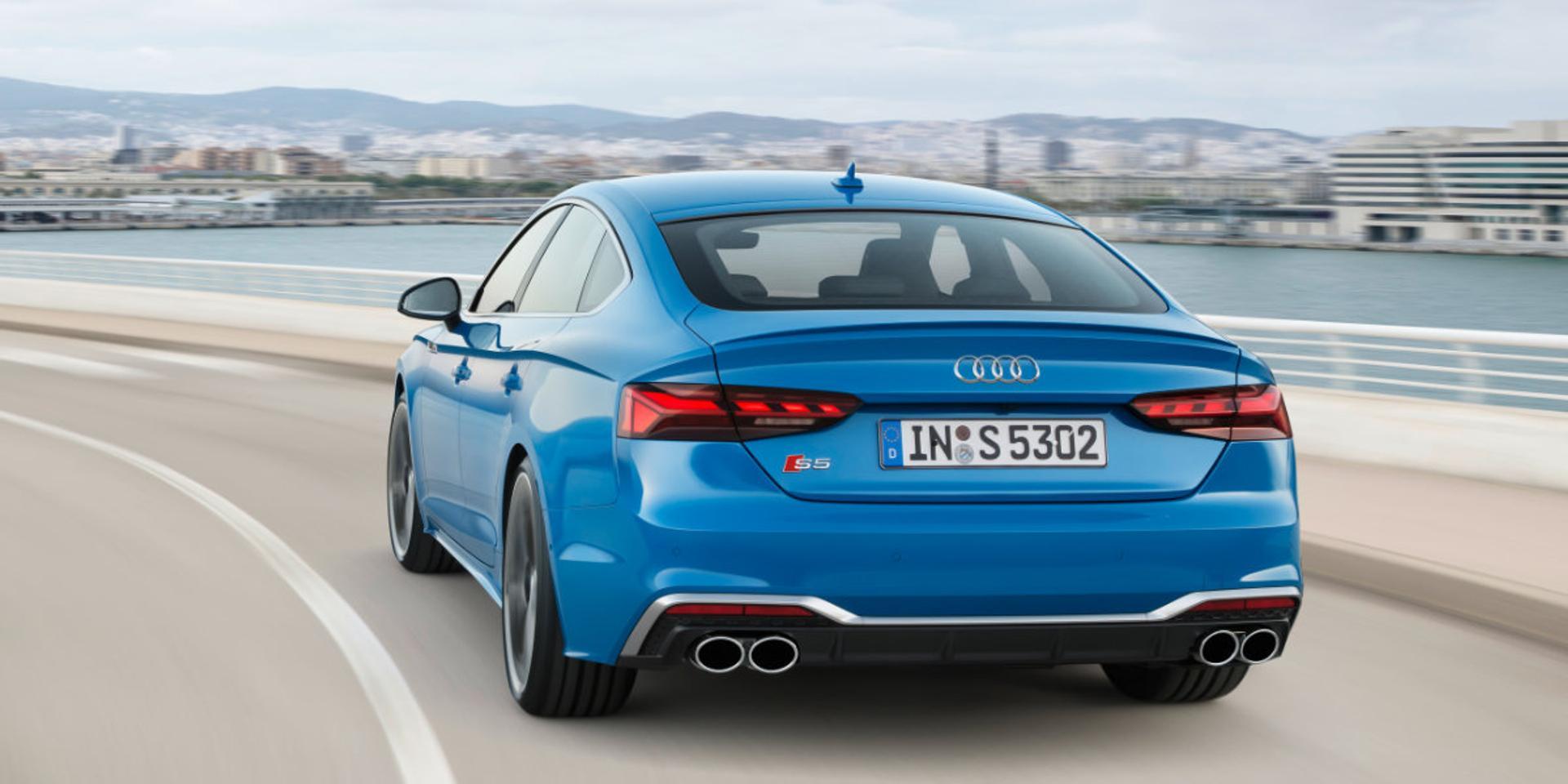 Audi S5 rear view