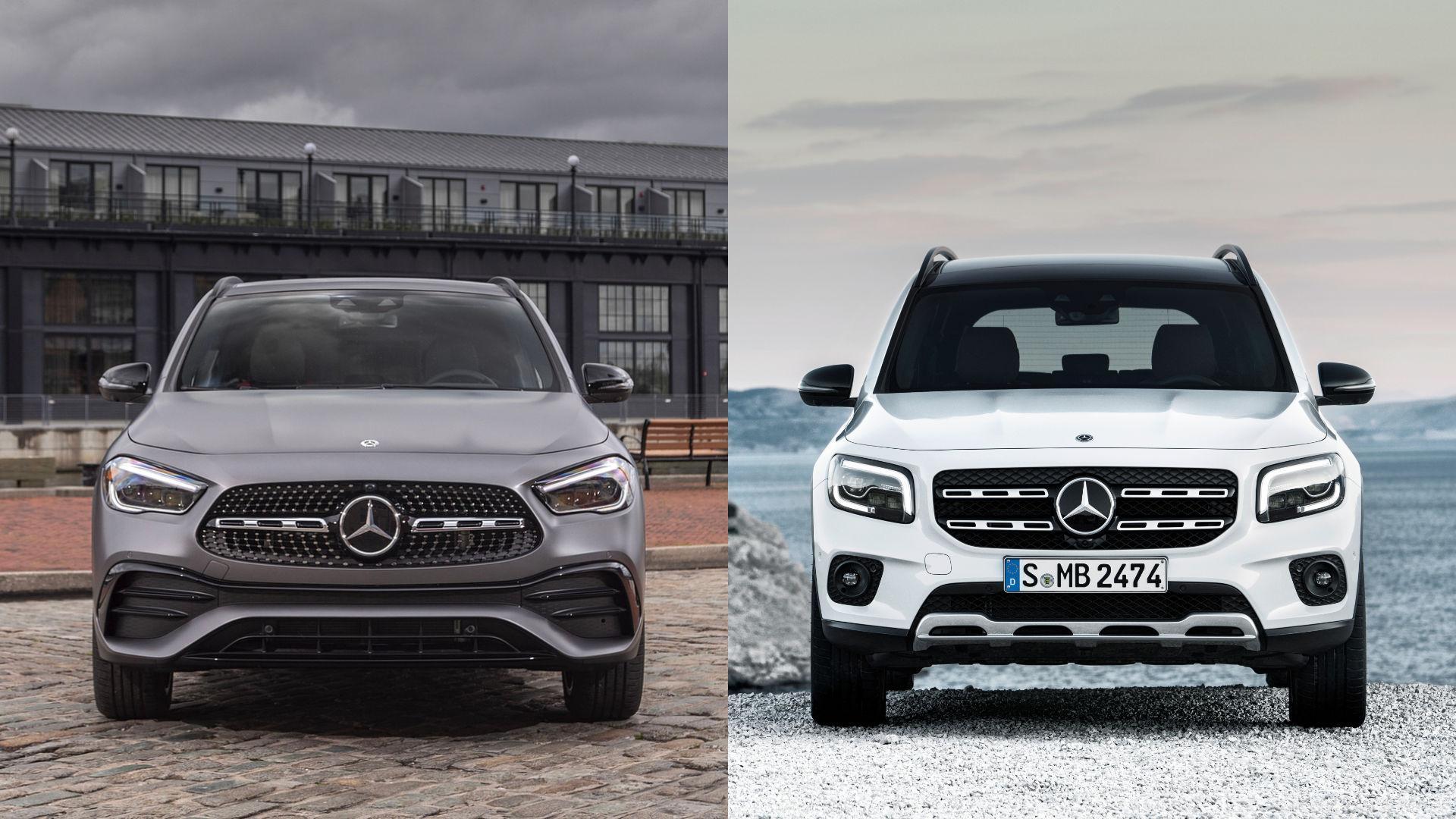 Mercedes GLA vs GLB