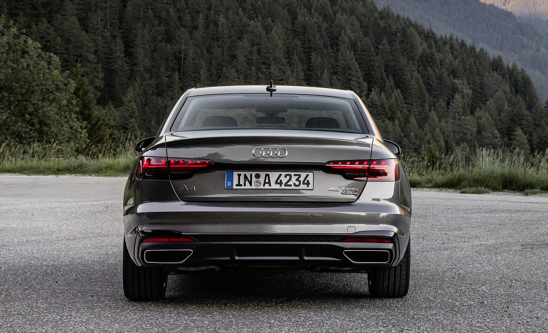 Audi A4 rear view