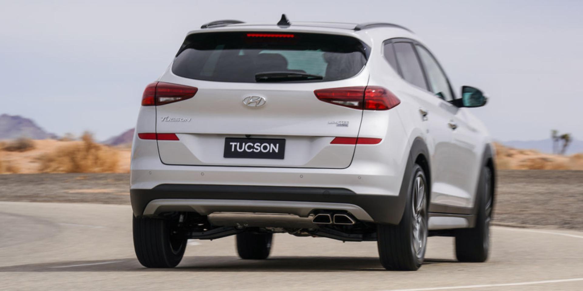 Hyundai Tucson rear view