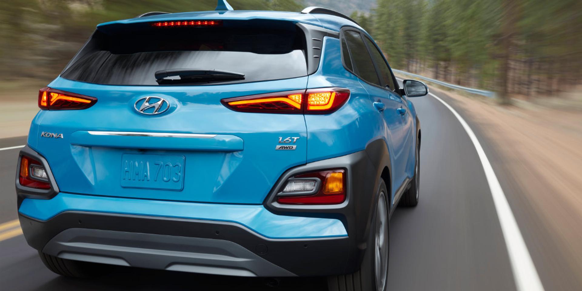 Hyundai Kona rear view