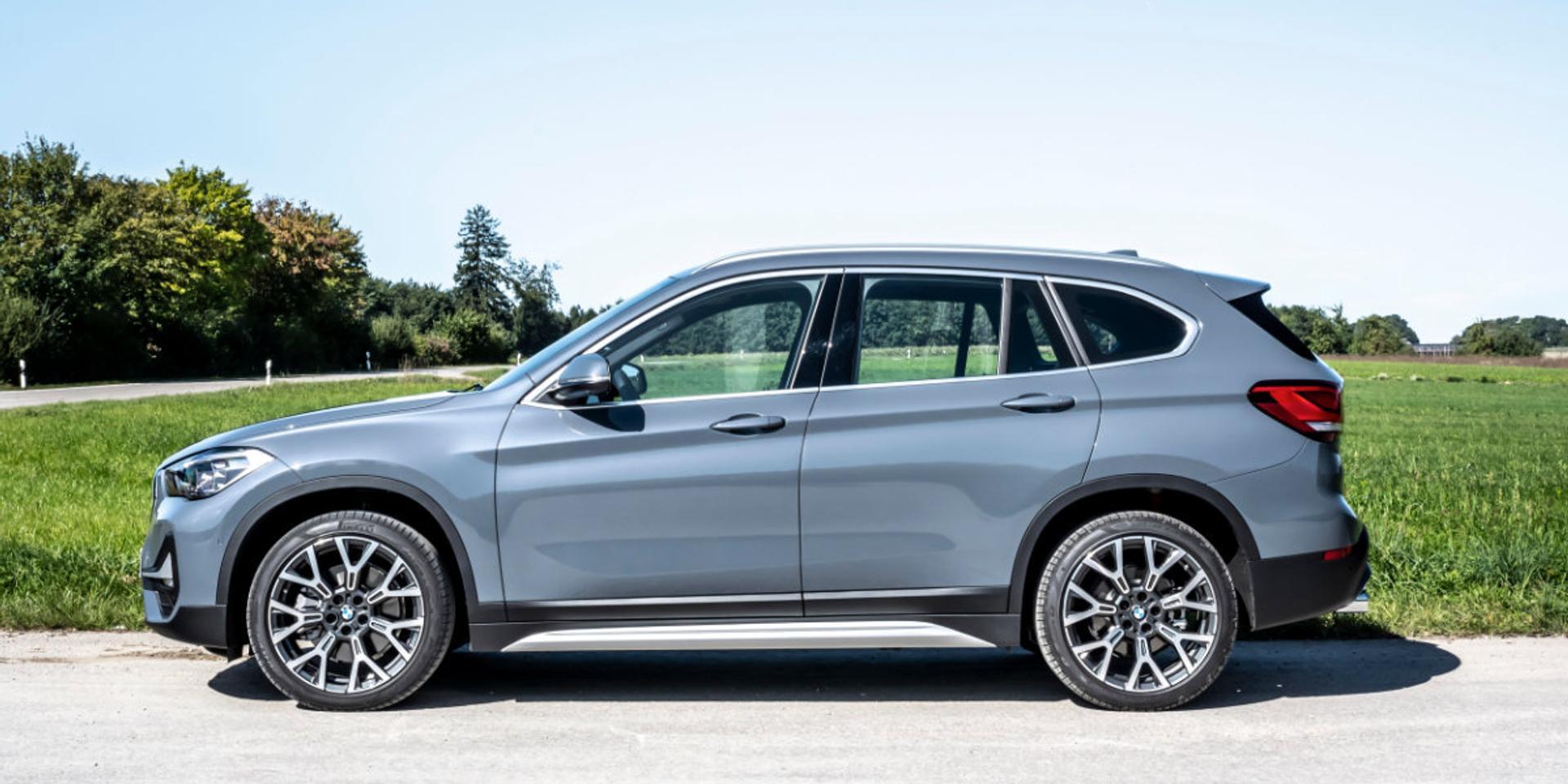 BMW X1 side view