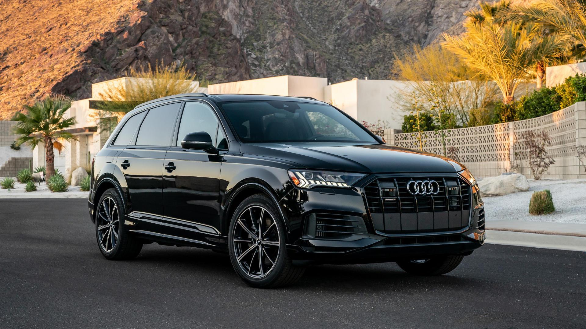 Audi SUV Models - Q2, Q3, Q5, Q7, Q8, e-tron and more