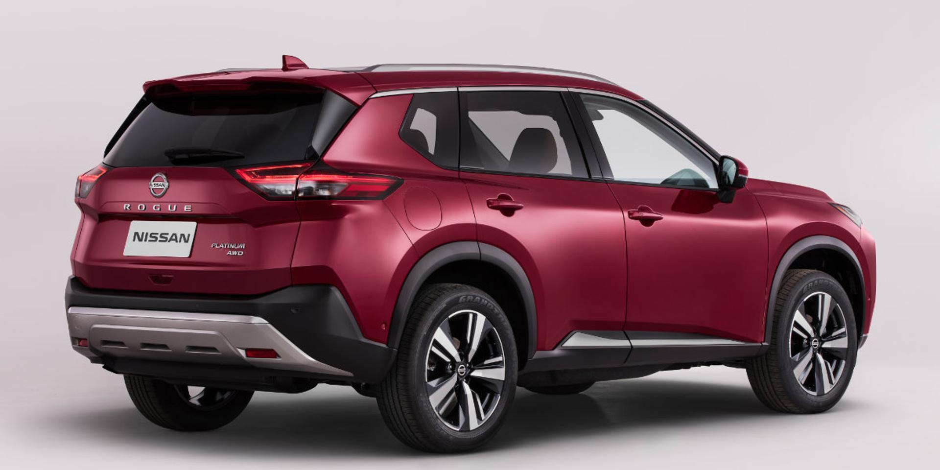 Nissan Rogue rear view