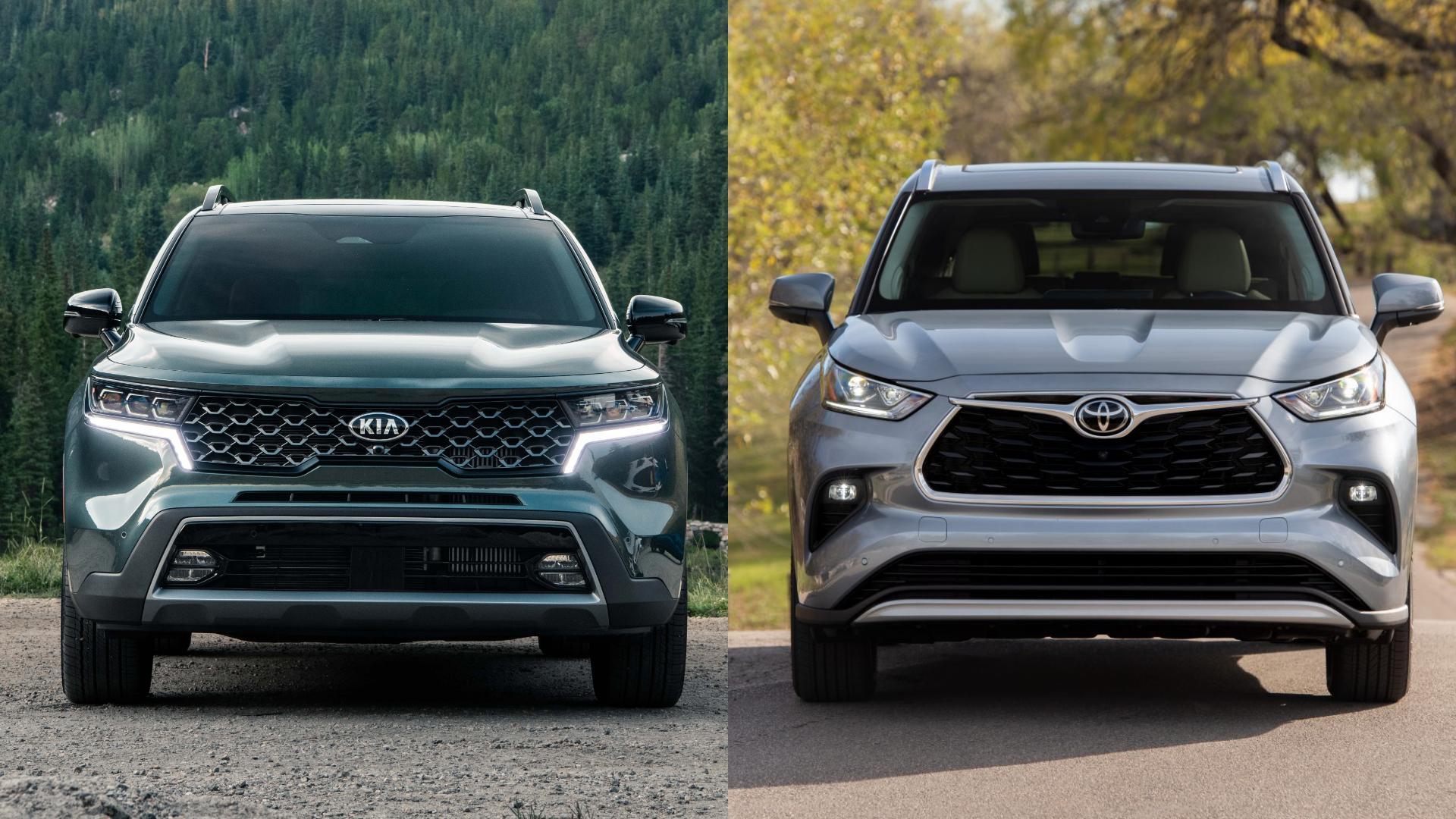 Kia Sorento vs Toyota Highlander: Does the new Kia challenge Toyota's throne?