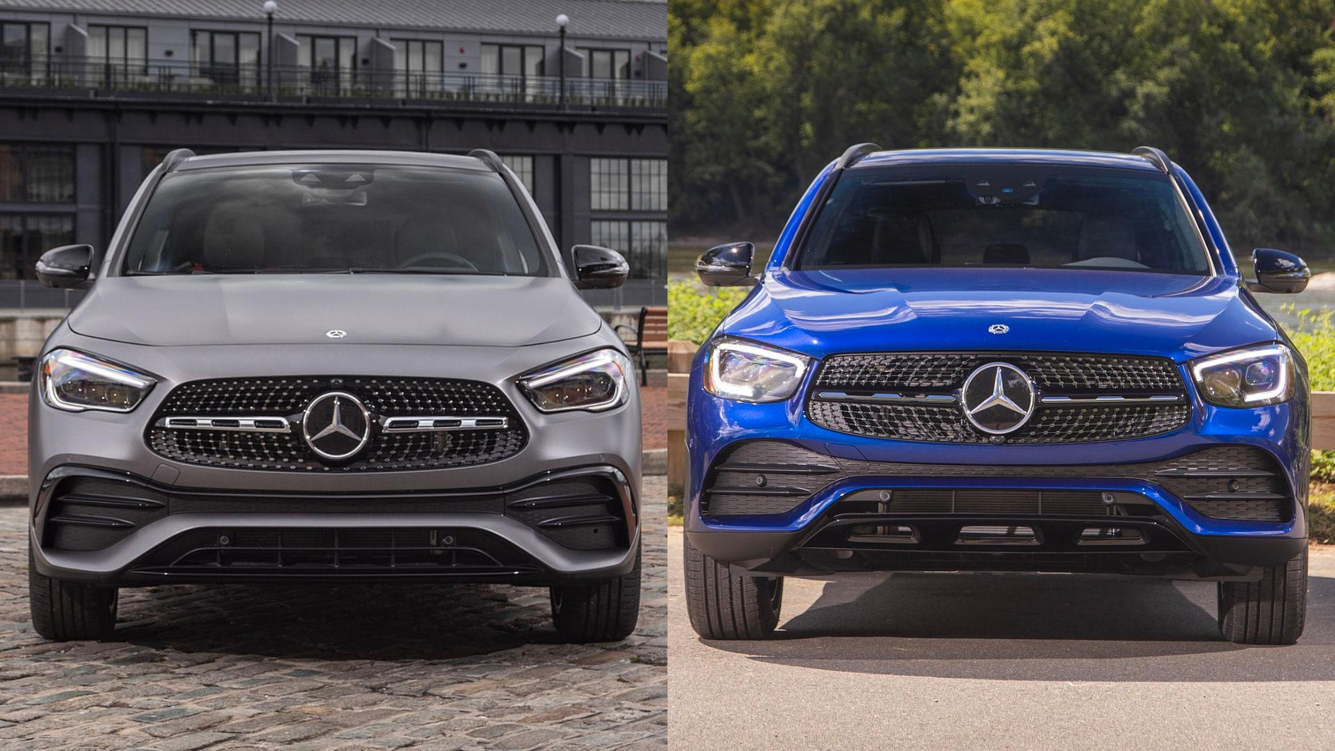 Mercedes GLA vs GLC