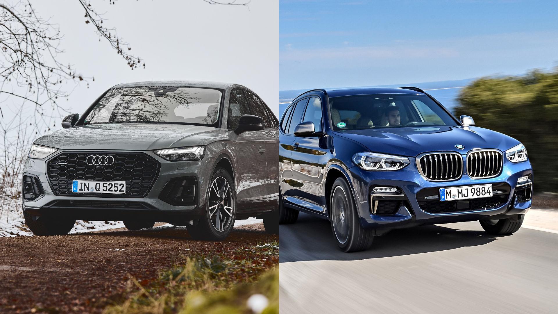 Audi Q5 vs BMW X3