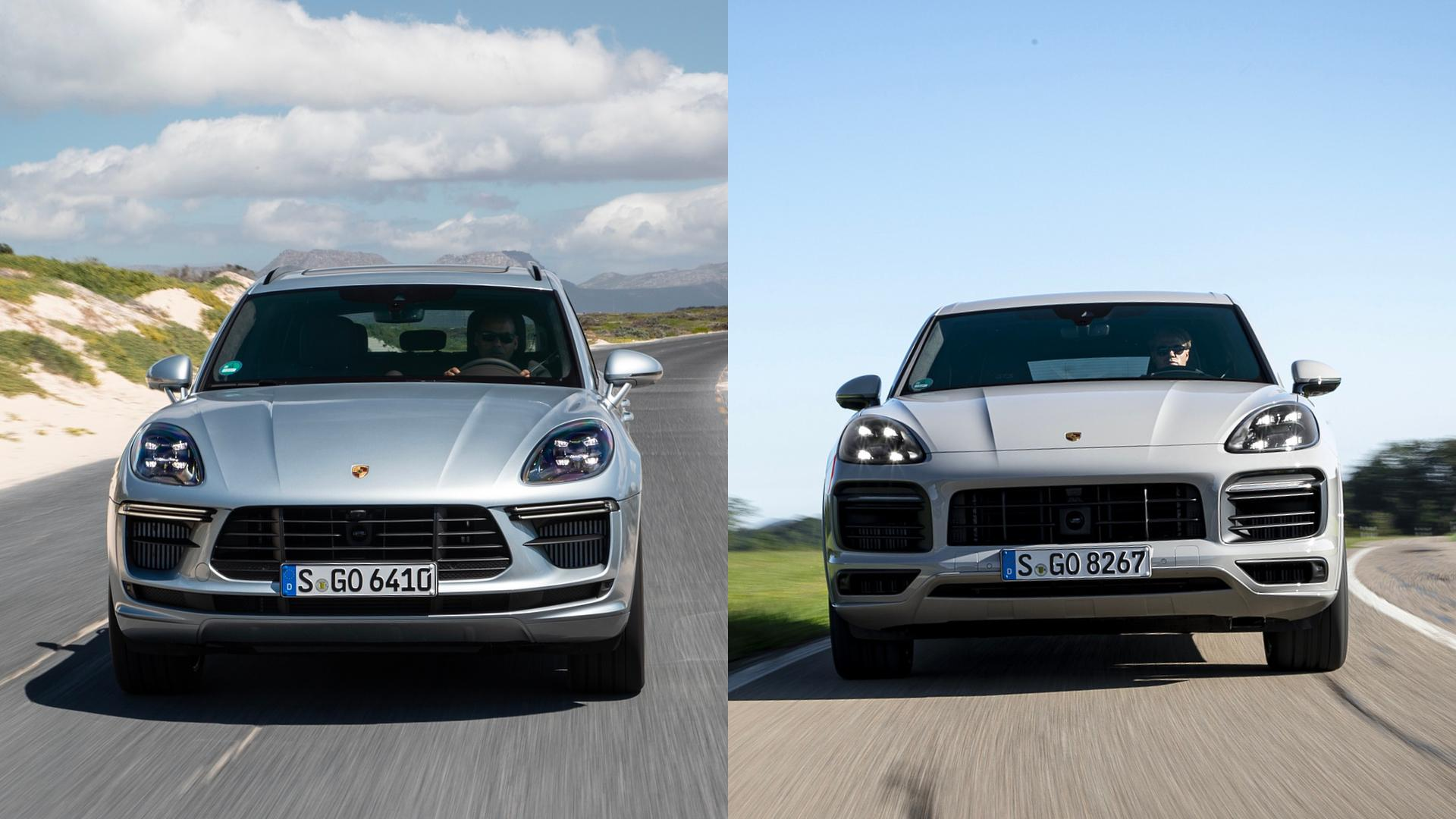 Porsche Macan vs Cayenne