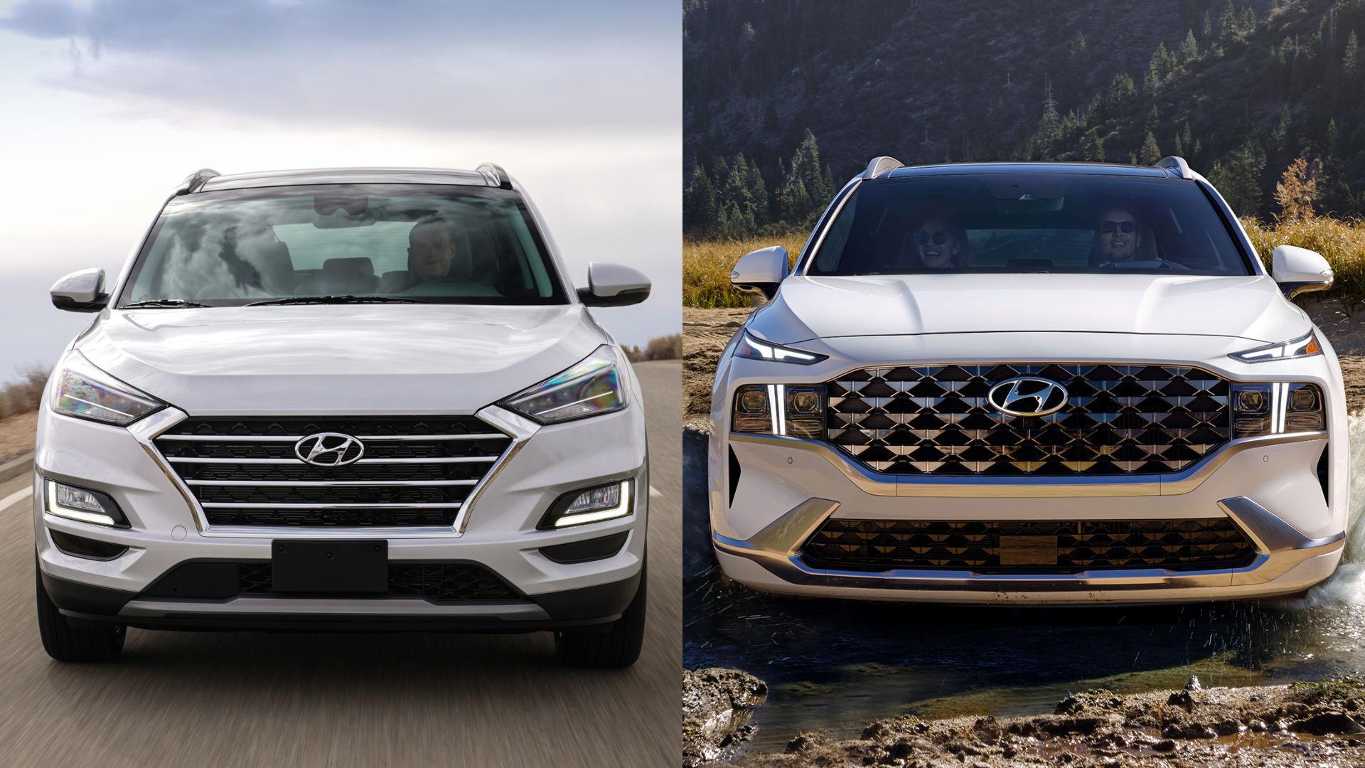 Hyundai Tucson vs Santa Fe