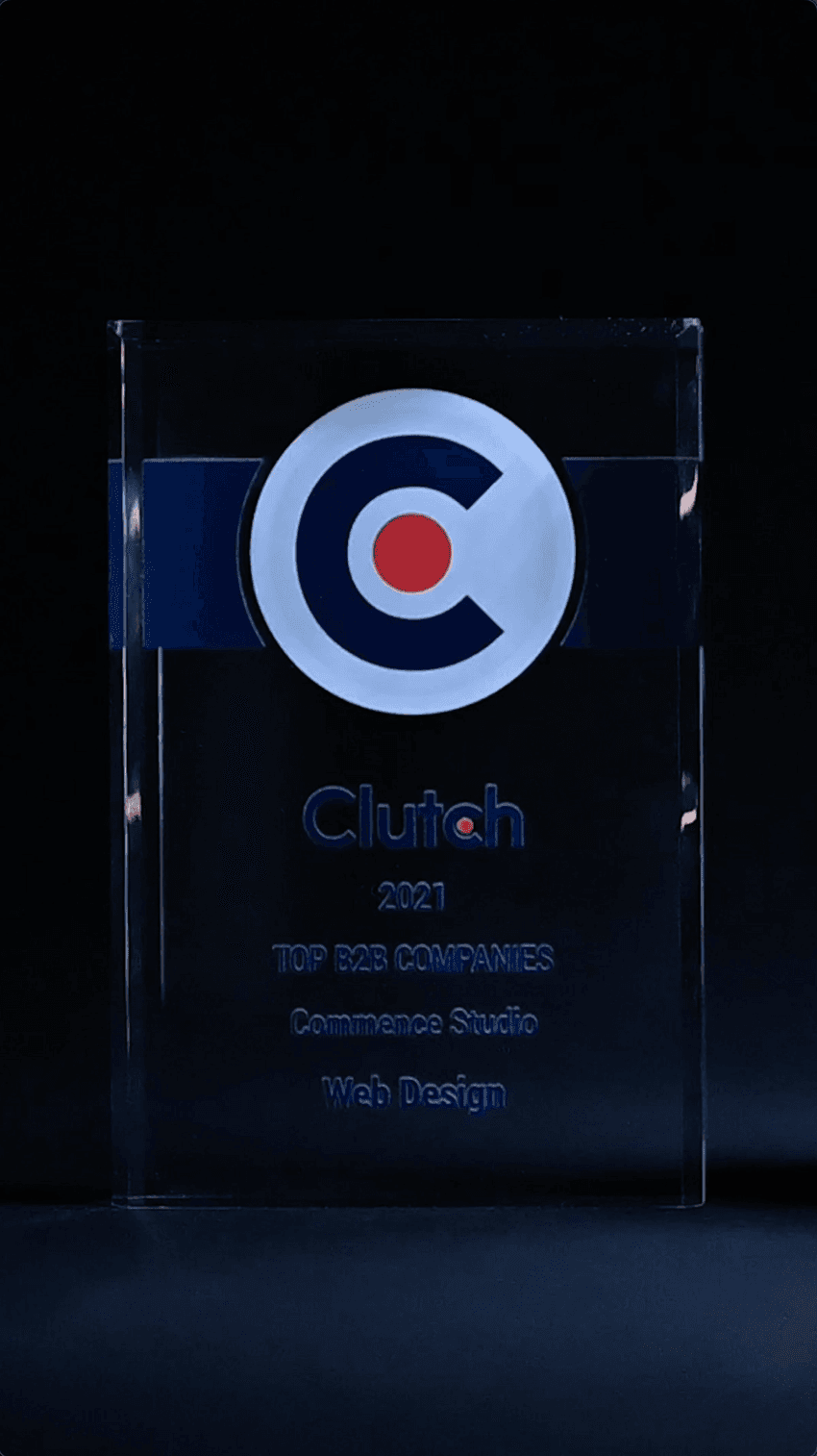 Commence Studio Named a Member of the Clutch Top 100
