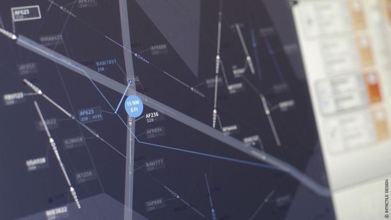 Design interface tactile avionique