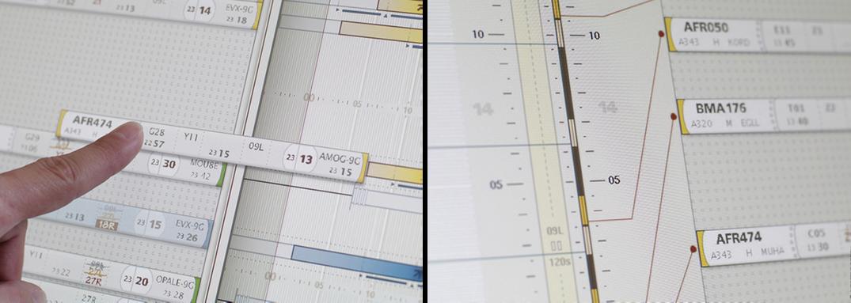 Design interface tactile pour l'aéronautique