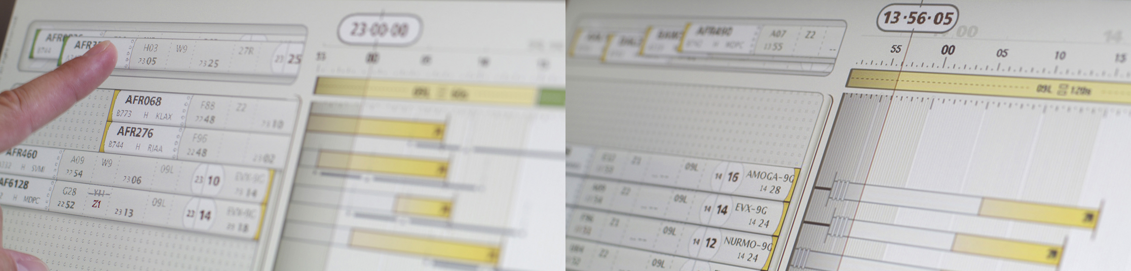 Design interface contrôle aérien