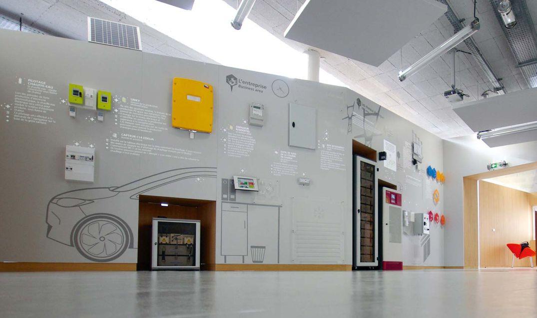 Showroom interactif Nice Grice Enedis