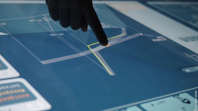 UX design interface tactile innovante