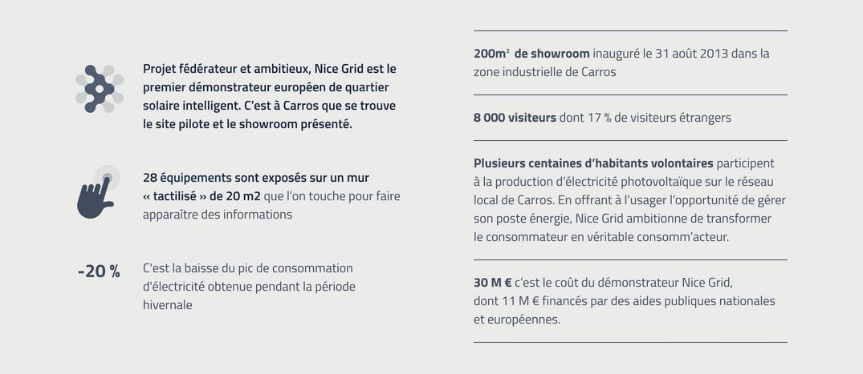 Infographie projet Nice Grid