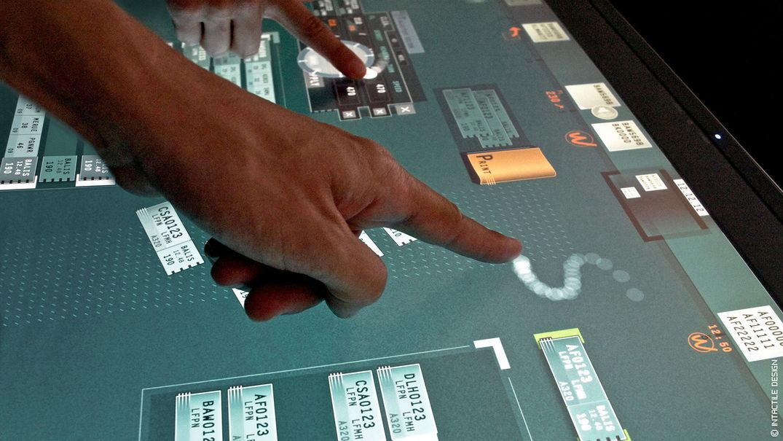 Design interface tactile collaborative