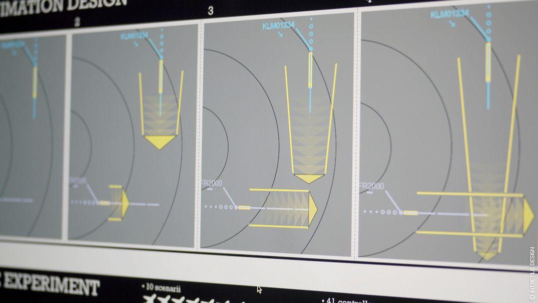 UX design contôle aérien