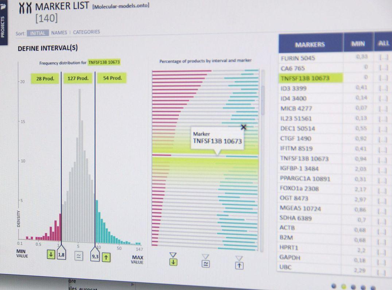 Données cliniques et génomiques dans un logiciel médical