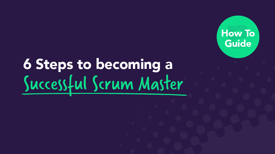 Scrum Master: man talking to a group of people