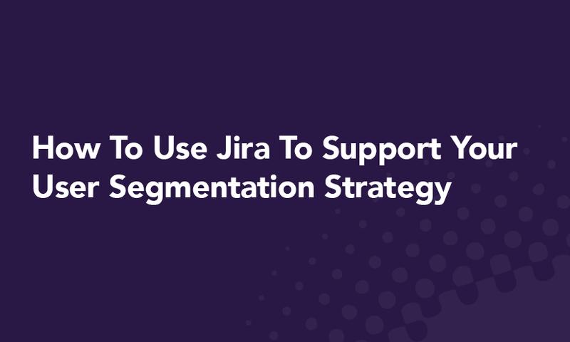 User segmentation: Interlinked icons of people