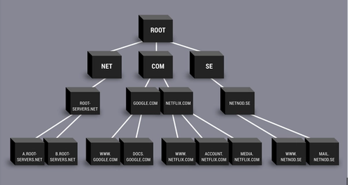 Root server example