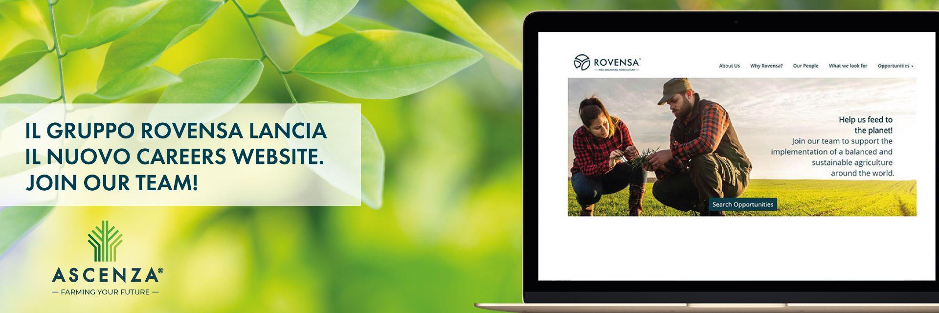 Rovensa Carreers website