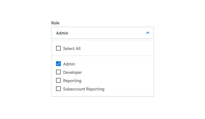 A multiple selection filter using a Popover with Checkboxes
