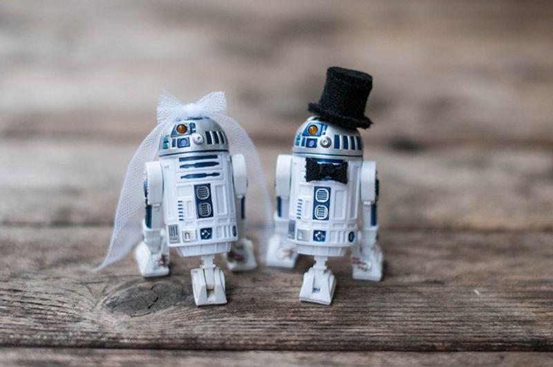 Wedding with Star Wars