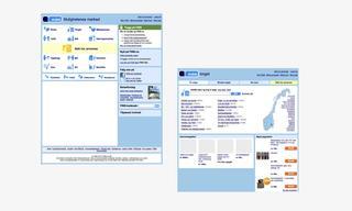 Skjermbilder fra Finn.no i 2010. Designet har forandret seg mye siden den tid. Bilde.