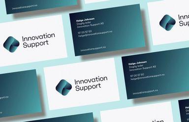 Visittkortene til Innovation support